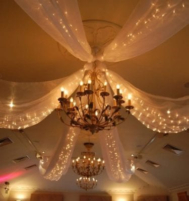 Fairy Drape Light Canopy