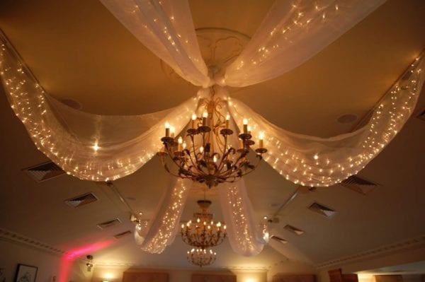 Fairy Drape Light Canopy