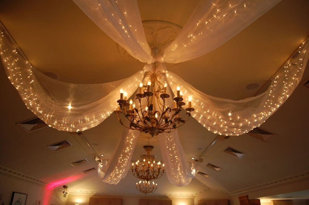 Fairy Drape Light Canopy Lighting Hire By Party Lights