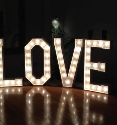love letters lighting
