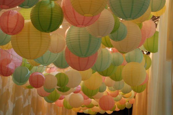 Paper Lantern Canopy