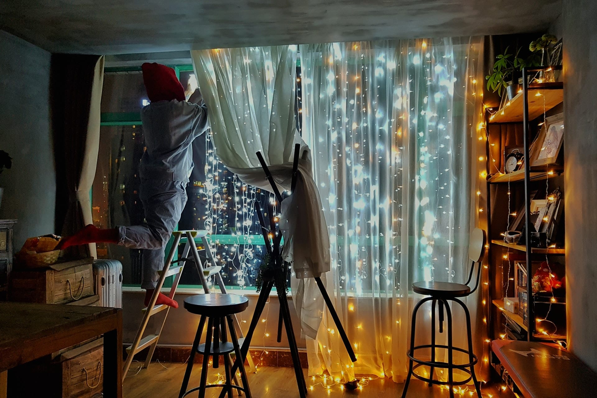 Bedroom Fairly Lights