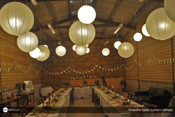 Lantern Canopy at Duckaller Farm