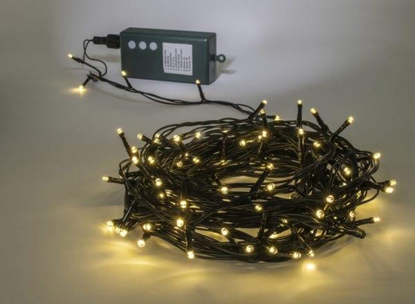 Led fairy lights battery warm white