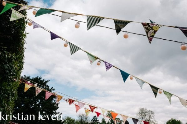 Bunting and Party Lights