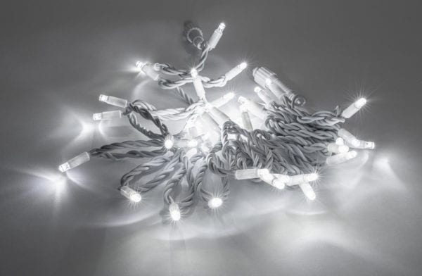 Premium Led fairy lights white cable white