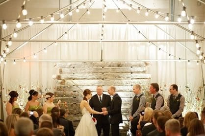 wedding light hire